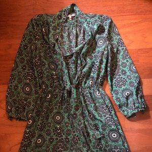 Juicy couture green dress